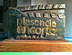 Estatuilla Festival Plasencia EnCorto